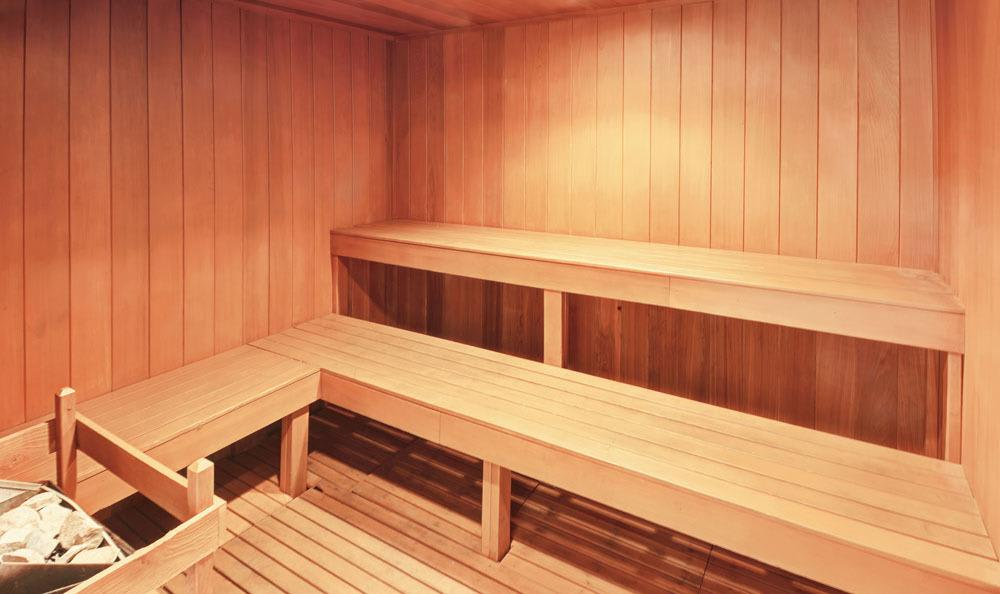 Sauna At Salado Springs Apartments In San Antonio TX
