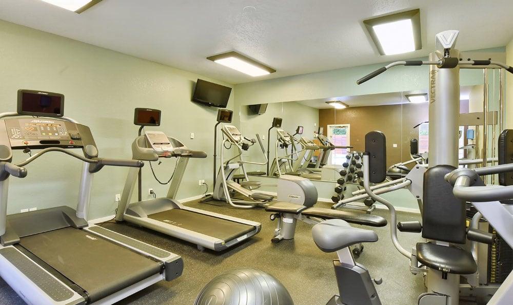 Fitness Center At Maple Glen Apartments In Mountlake Terrace WA
