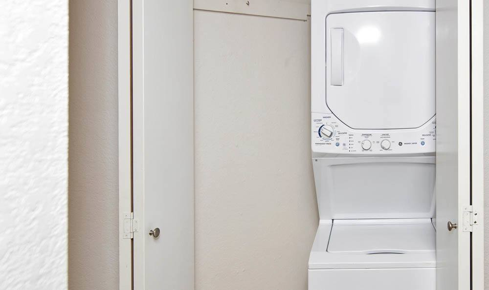 Washer & Dryer at apartments in Mountlake Terrace, Washington