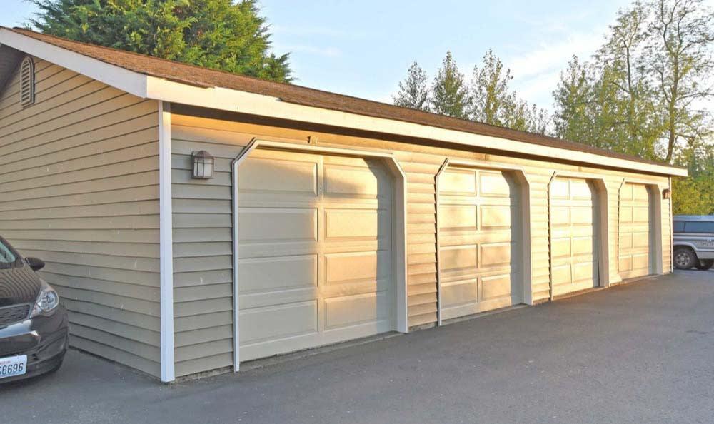 Private Garages At Aravia Apartments In Tacoma WA