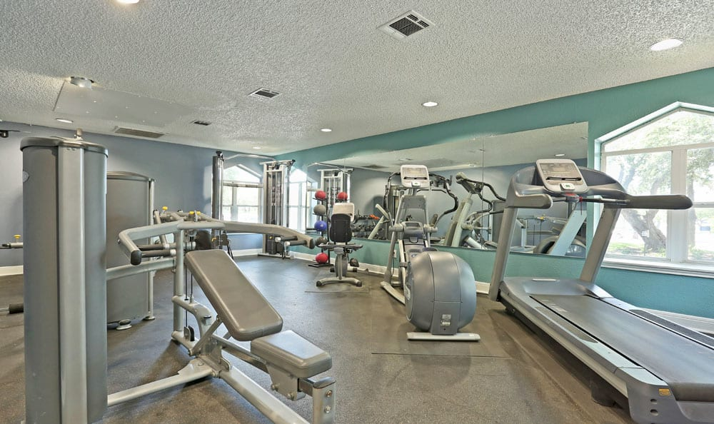 Fitness Center at Northstar Apartments in Austin, Texas