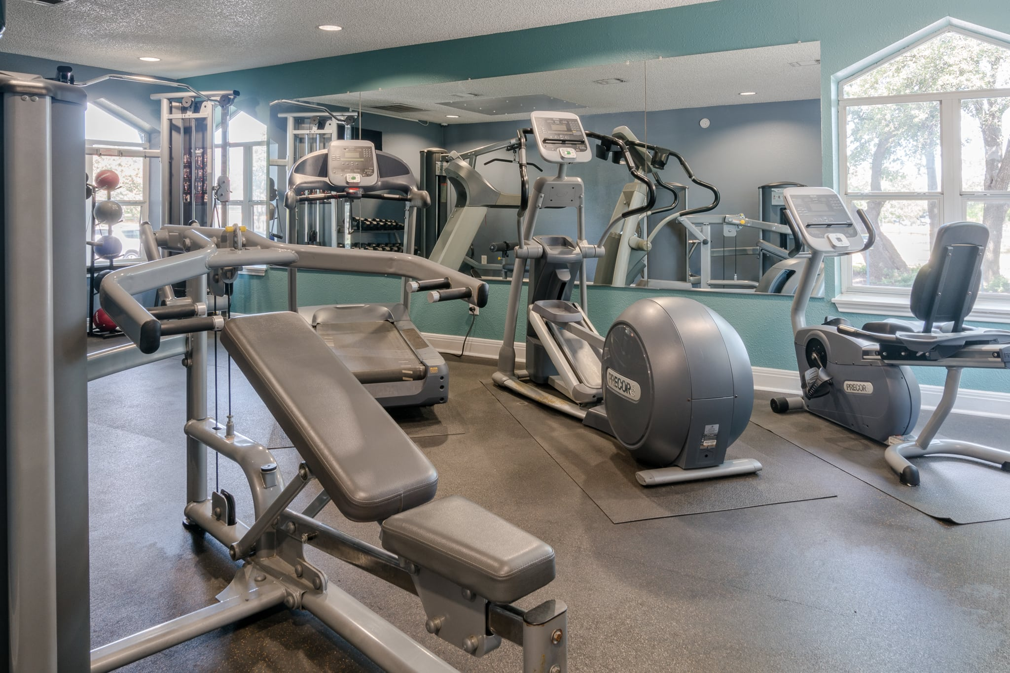 Fitness Center At Northstar Apartments In Austin TX