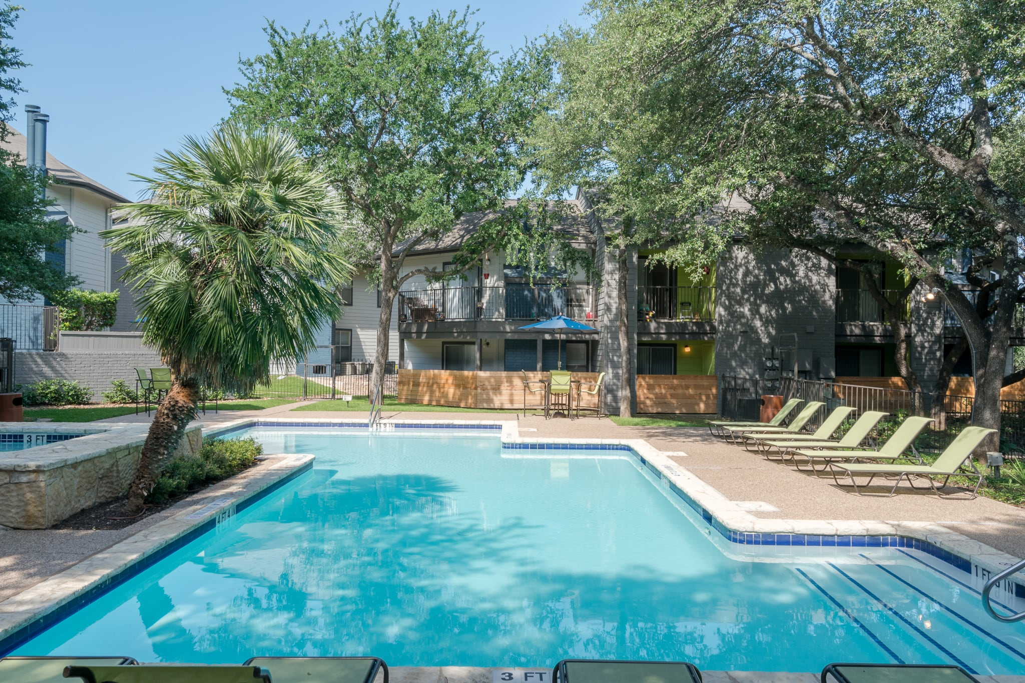 Swimming Pool At Northstar Apartments In Austin TX