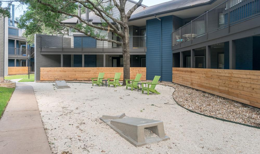 Exterior Apartaments backgorund At Northstar Apartments In Austin TX