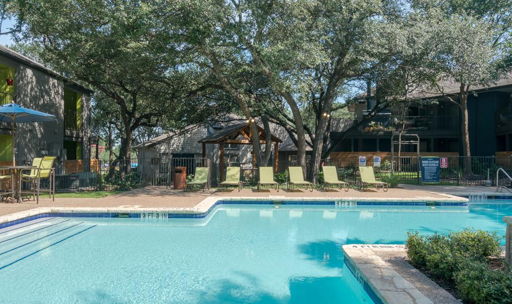 Swimming pool at Northstar Apartments in Austin, Texas