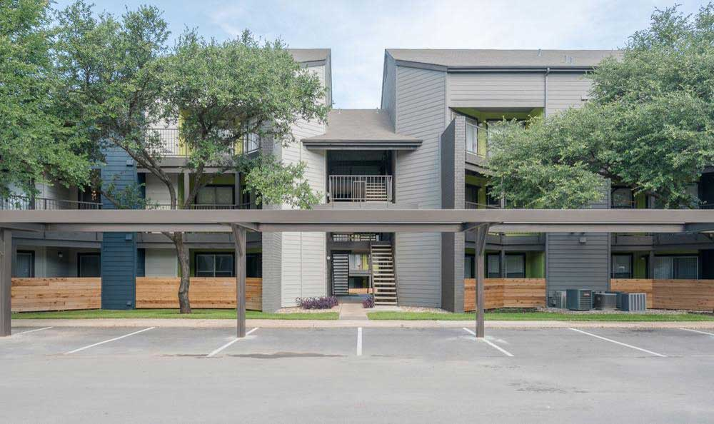 Parking Area  at Northstar Apartments in Austin, Texas