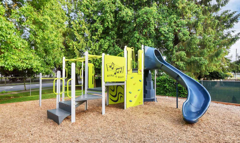 A Children's play structure  is onsite for your enjoyment at Pointe East