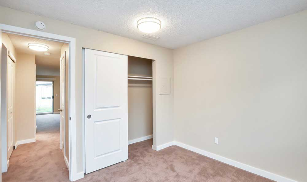 Bedroom at Pointe East apartment rentals