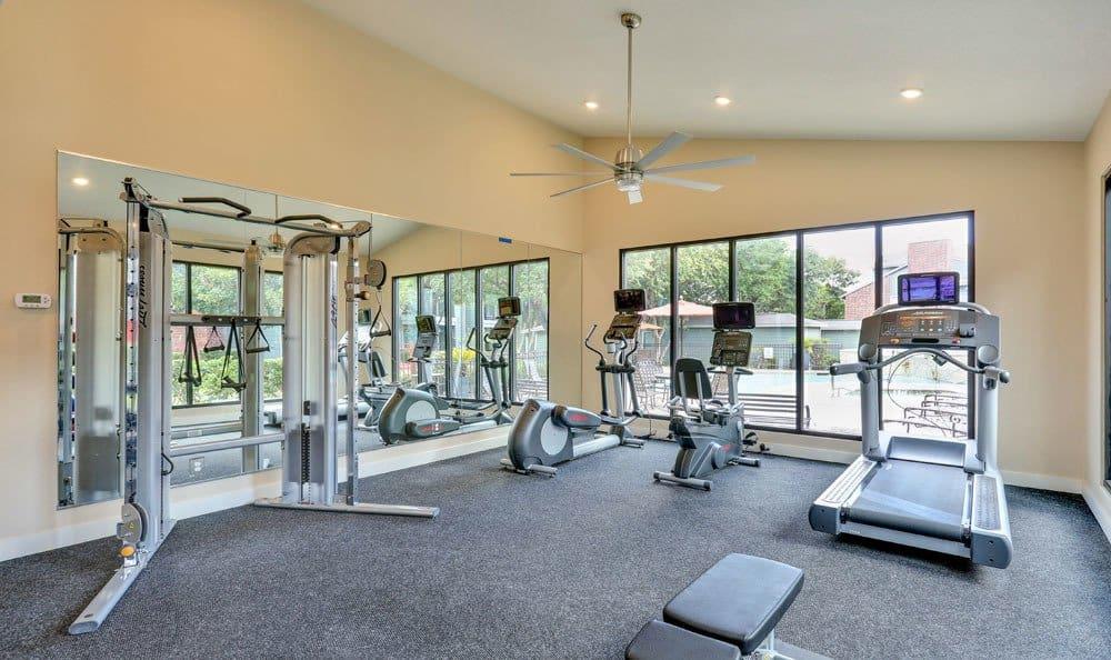 Clubhouse interior at Bradford Pointe in Austin, TX