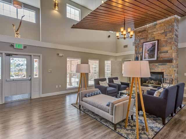 Spacious clubhouse At Cloverbasin Village In Longmont CO