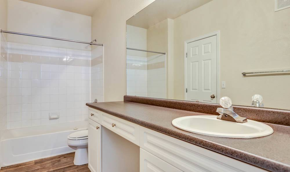 Spacious bathroom at Reserve at South Creek in Englewood, Colorado