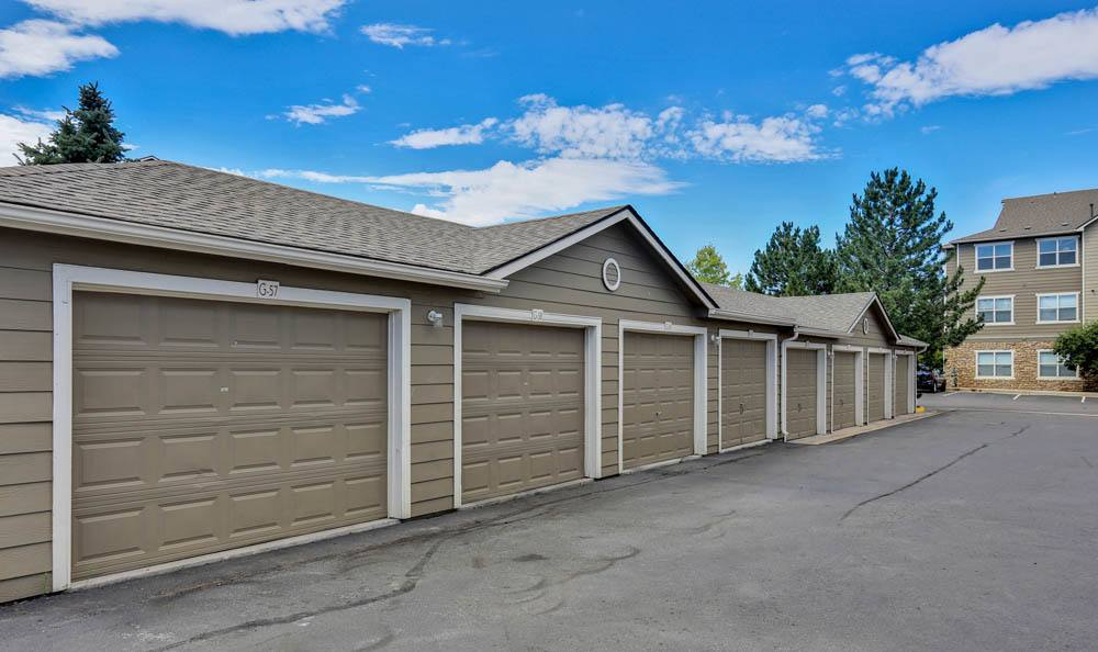 Garages available at Reserve at South Creek in Englewood, CO