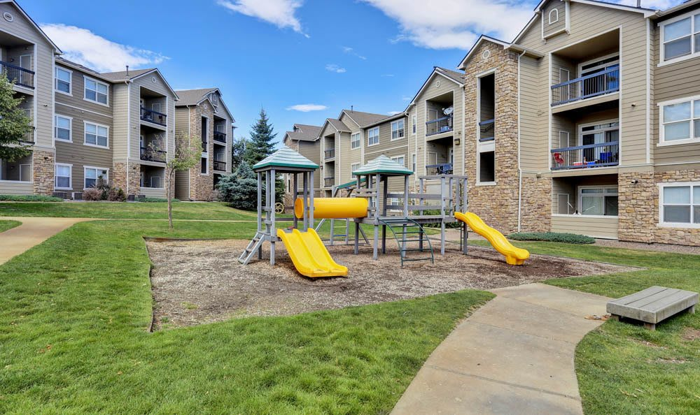 Exterior parking at Reserve at South Creek in Englewood, CO