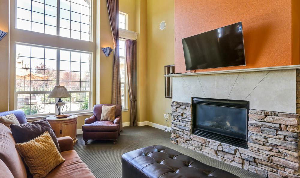 Community Room at Reserve at South Creek in Englewood, CO