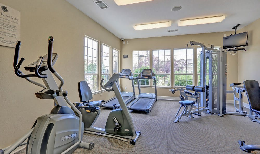 Fitness Center at Reserve at South Creek in Englewood, CO