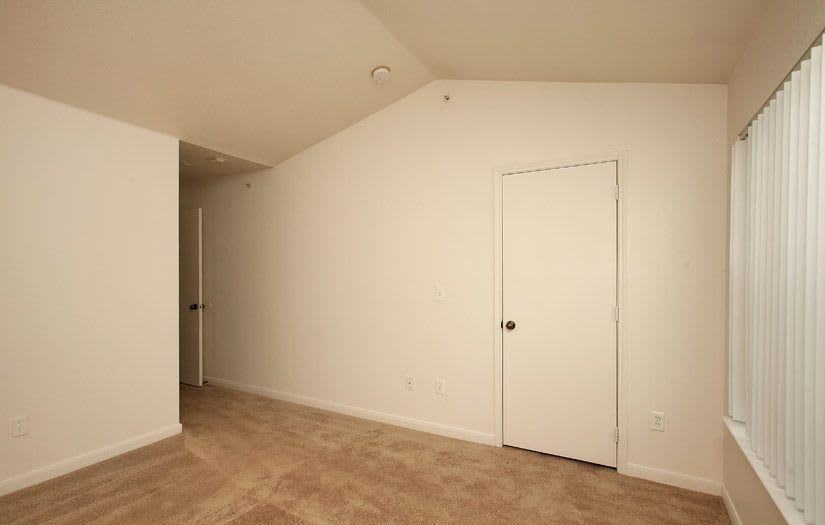 Spacious bedroom at Centennial East Apartments in Englewood, Colorado