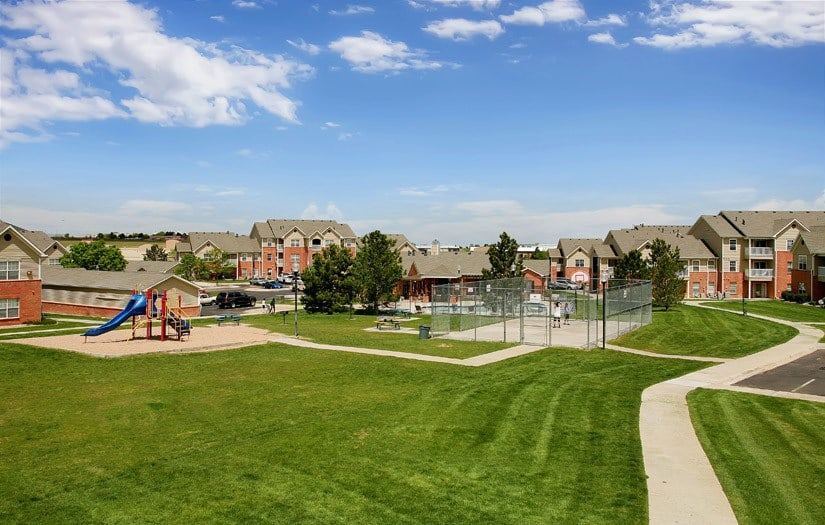 Landscape view At Centennial East Apartments In Englewood CO
