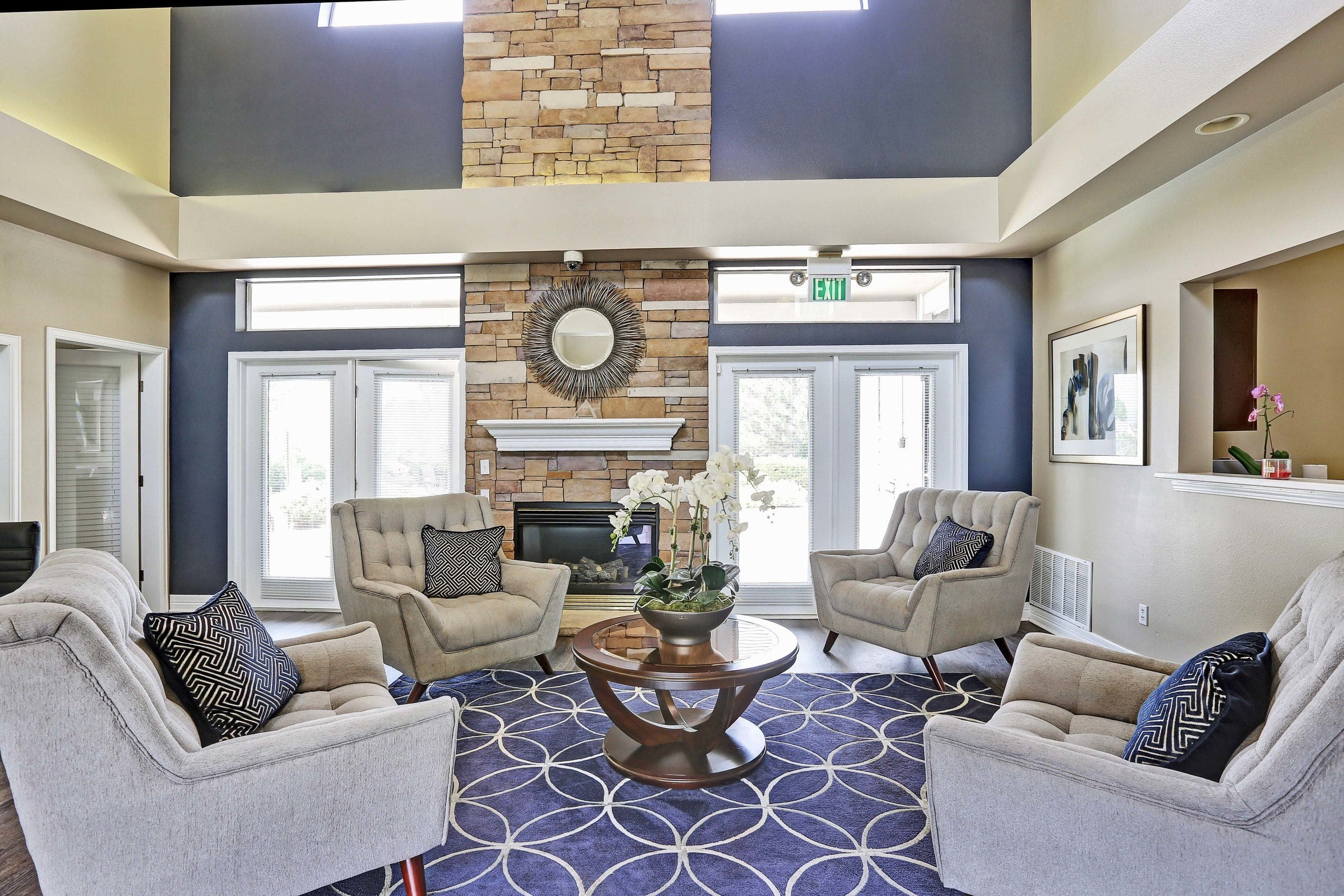 Common Room At The Pines at Castle Rock Apartments In Castle Rock CO