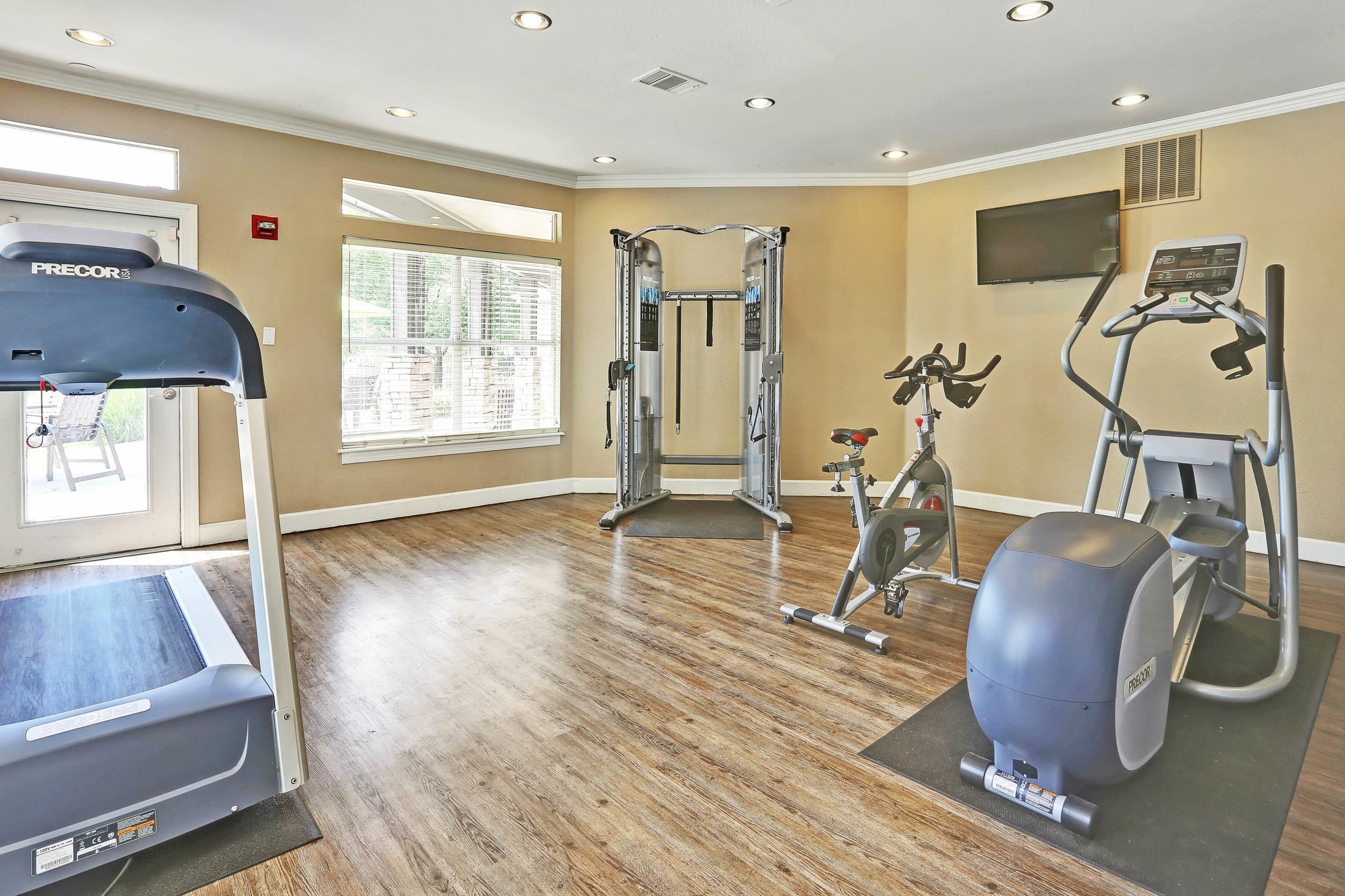 Fitness Center at apartments in Castle Rock, Colorado