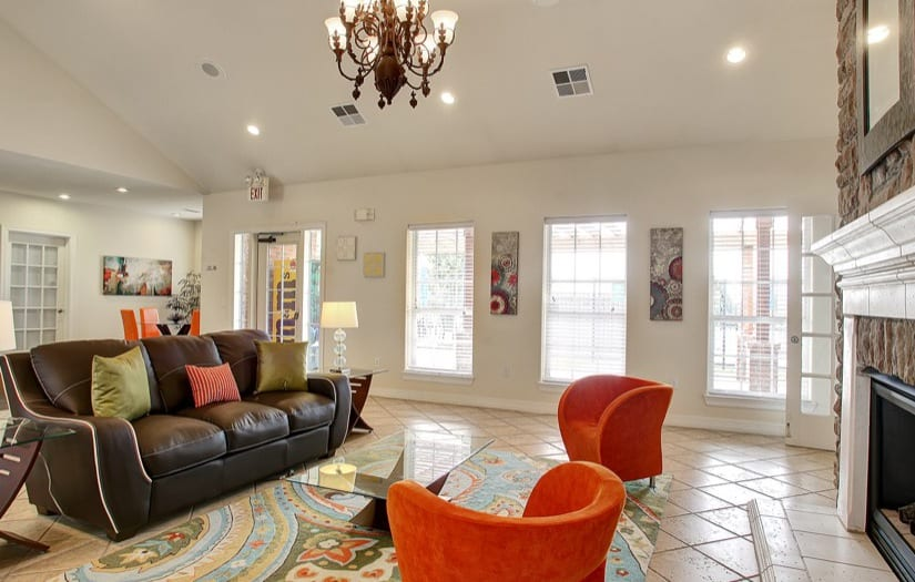 Living room at Sterling Park Apartments