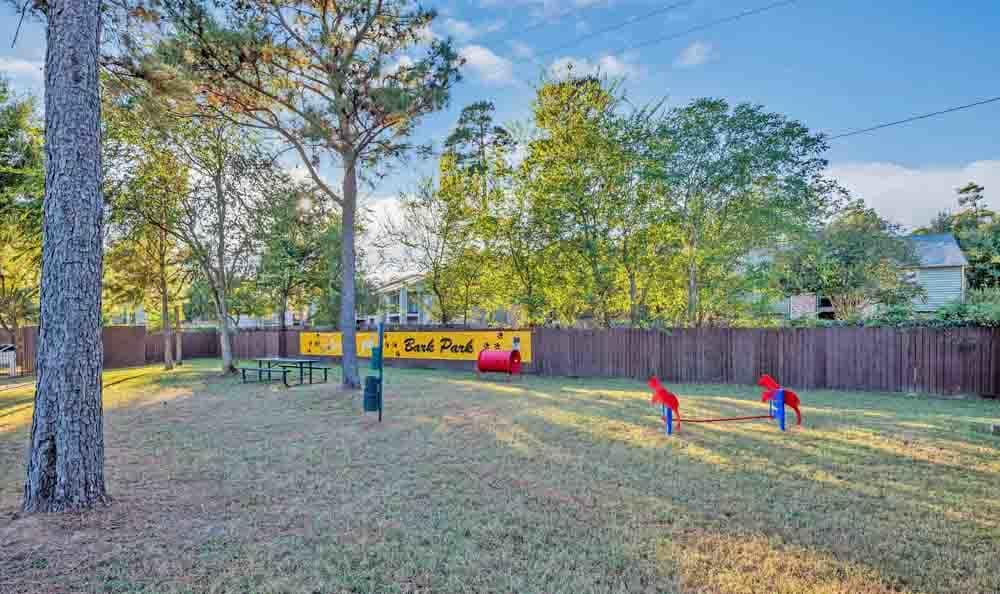 Dog Park At Ravinia Apartments In Spring TX