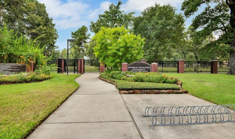 Park near The Point at Cypress Woods Apartments in Cypress, Texas