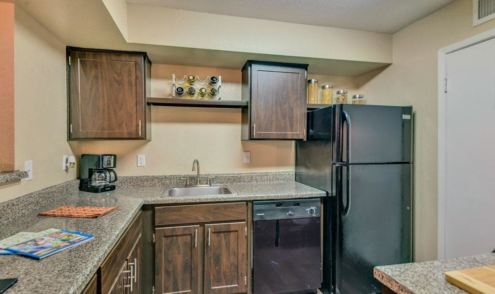 Enjoy apartments with a spacious kitchen at The Point at Cypress Woods Apartments
