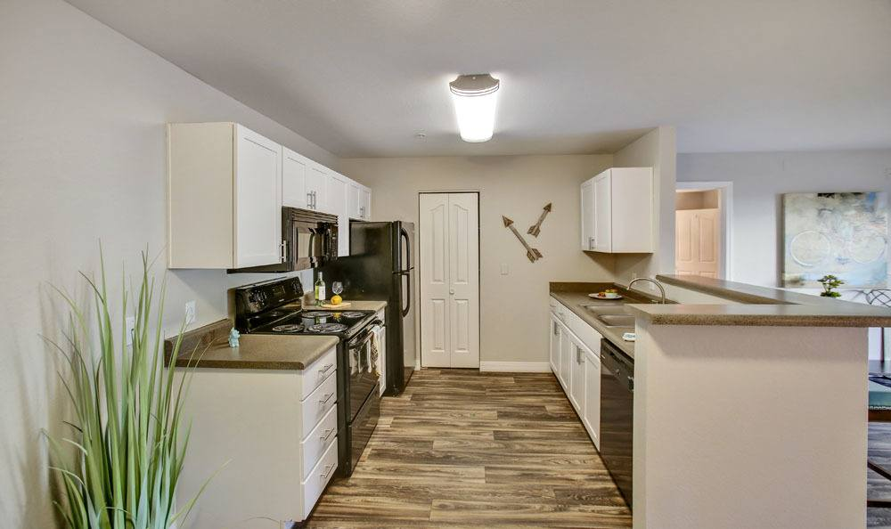 Beautiful kitchen at CentrePoint Apartments in Tucson, Arizona