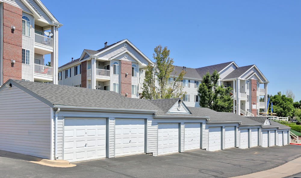 Private storage available at Vistas at Stony Creek Apartments in Littleton, Colorado