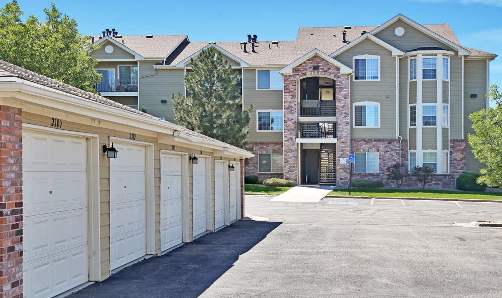 Private Storage At Dove Valley Apartments In Englewood CO