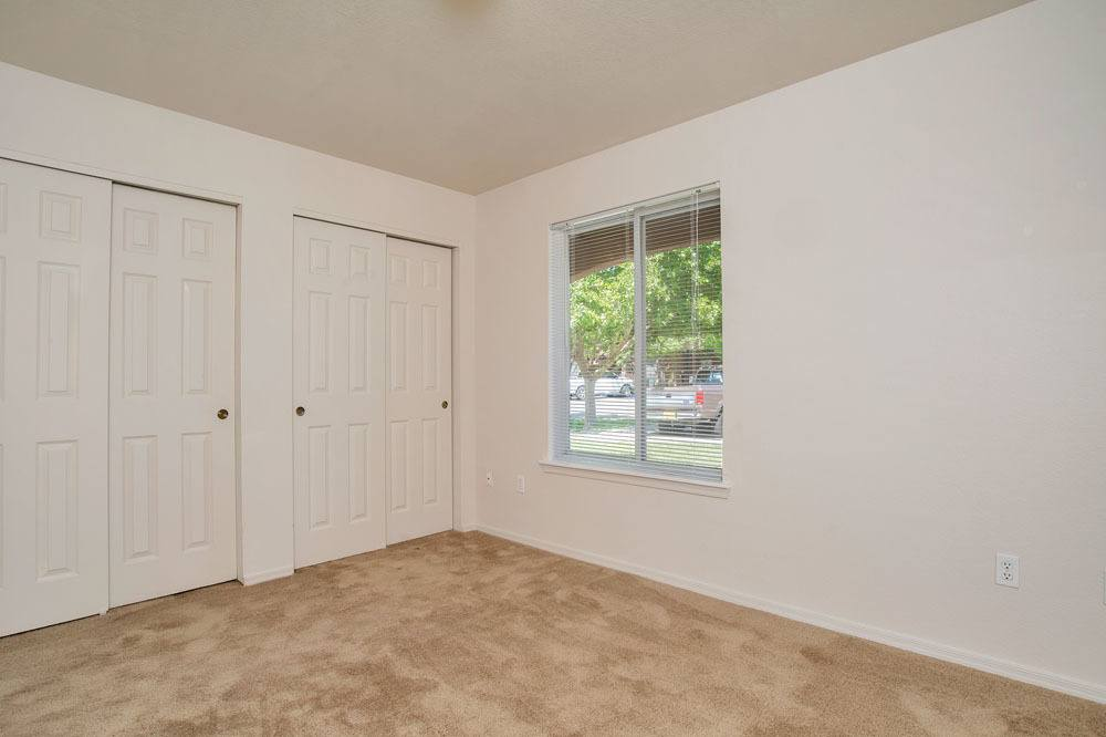 West Park Apartments offers a spacious bedroom in Albuquerque, New Mexico