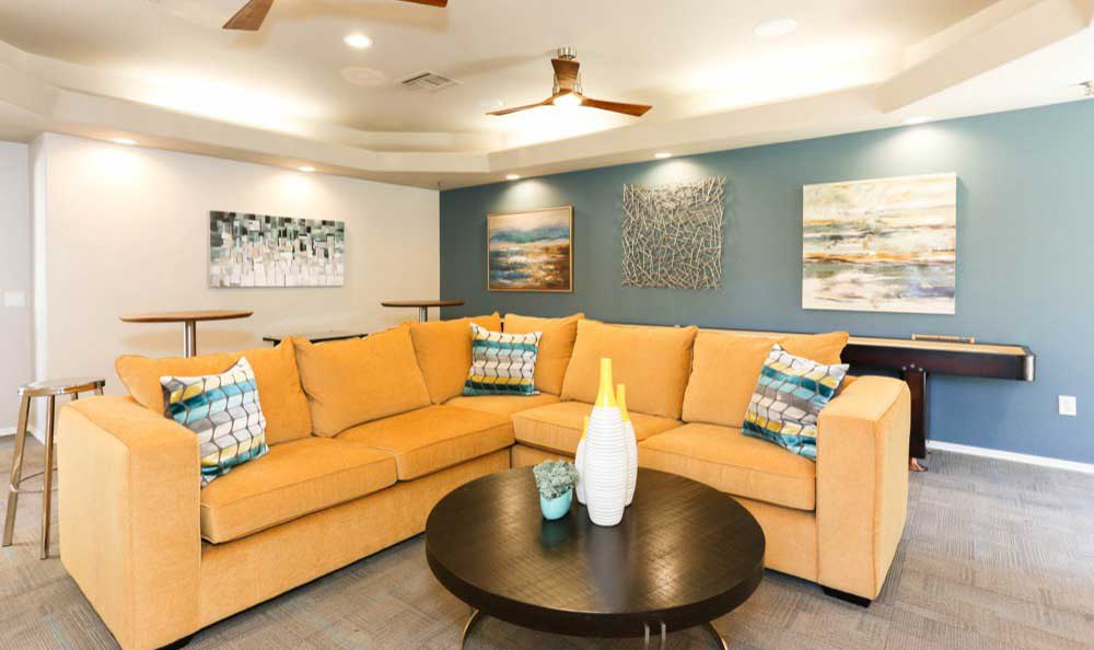 Seating at Tresa at Arrowhead Apartments in Glendale, AZ