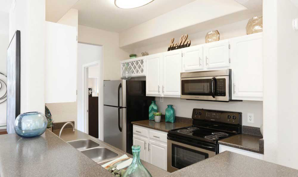 Example kitchen At Tresa at Arrowhead Apartments In Glendale AZ