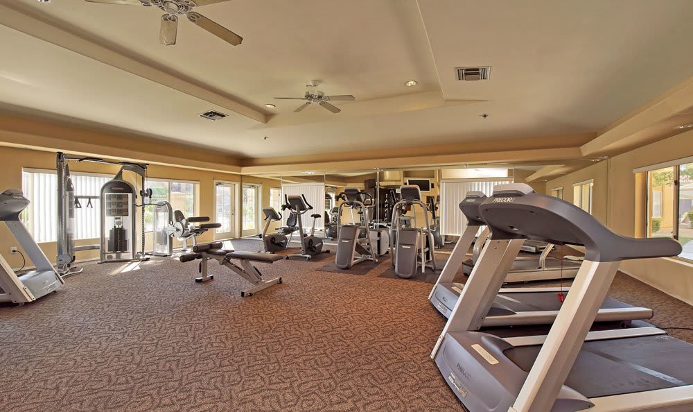 Fitness center at Tresa at Arrowhead Apartments in Glendale, Arizona