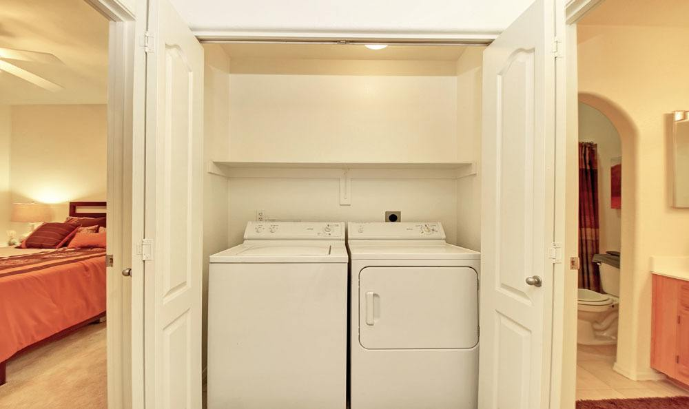 Laundry facility at apartments in Glendale, Arizona