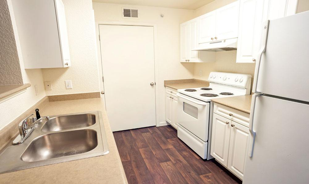 Kitchen at Waterford Place Apartments in Loveland, Colorado