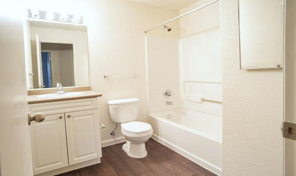 Bathroom at Waterford Place Apartments in Loveland, Colorado