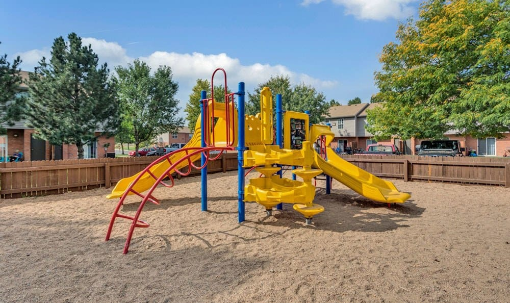 Our apartments in Fort Collins, Colorado showcase a beautiful playground