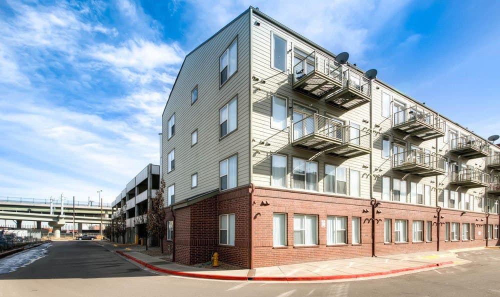 Exterior apartment at Diamond at Prospect Apartments in Denver, Colorado