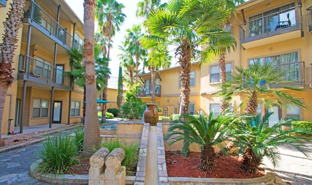 Entryway at The Niche Apartments in San Antonio, Texas