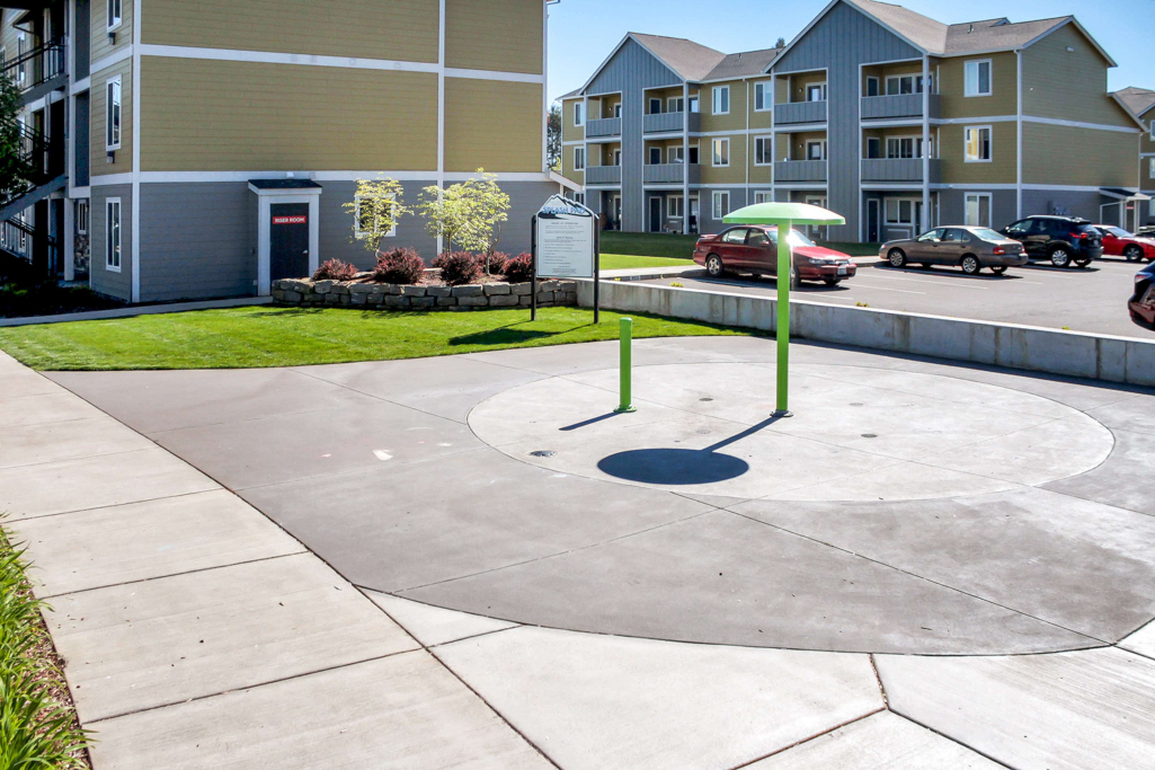 Rock Creek Commons offers a great for entertaining area in Vancouver, Washington