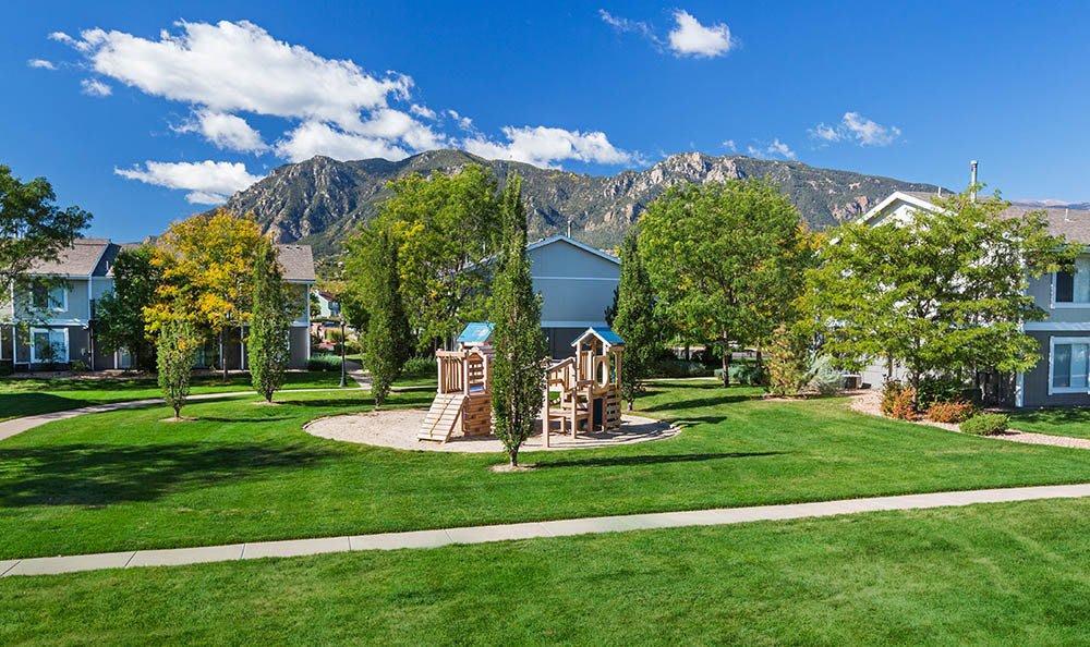 Colorado Springs apartment playground