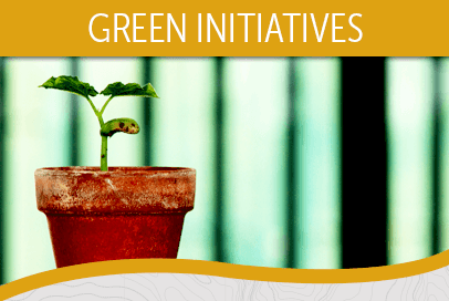 Green Initiatives at Reserve at Centerra Apartment Townhomes in Loveland CO.