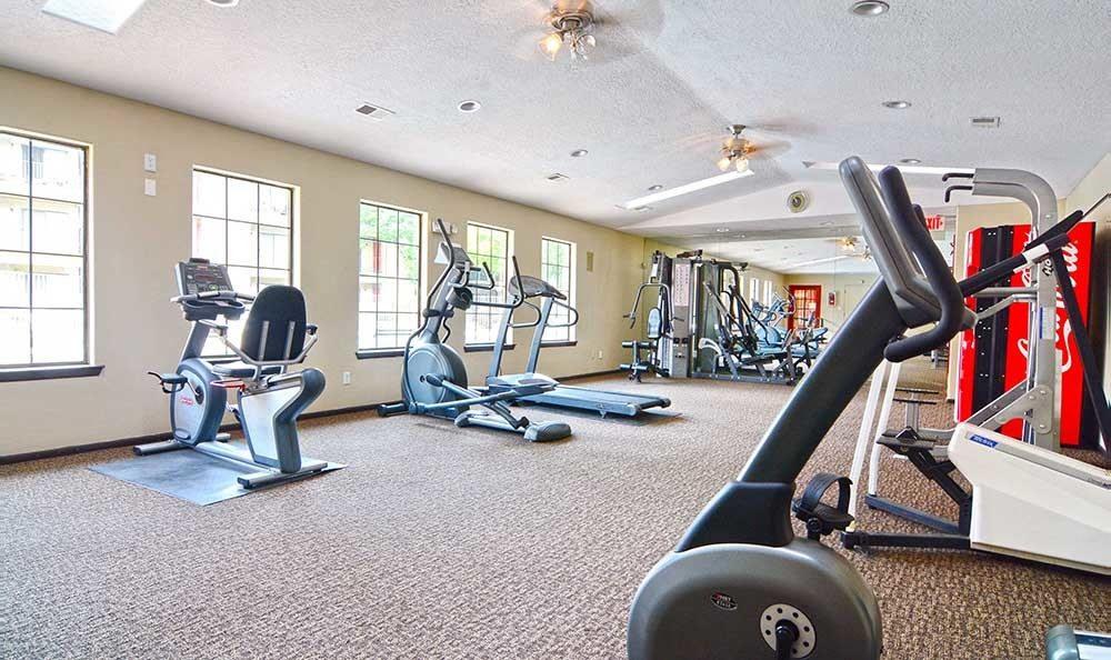 Albuquerque apartment fitness center