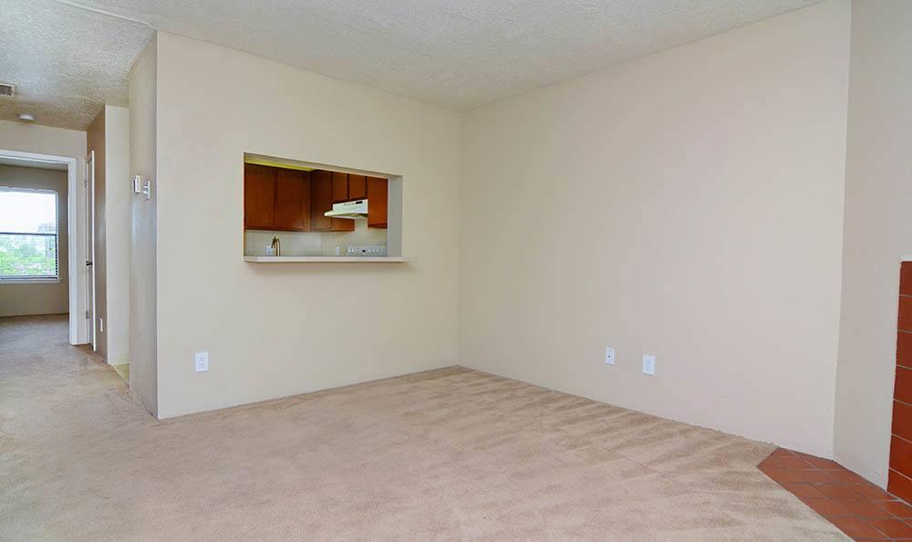 Empty apartment in Albuquerque