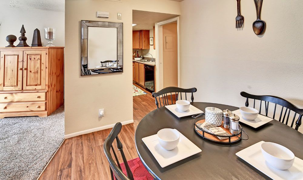 Our apartments features a dining room in Riverdale, UT