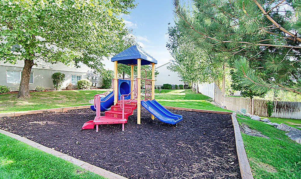 Our Bountiful apartment community features a private playground