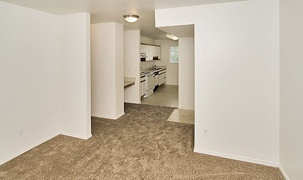 Interior view of our spacious Bountiful apartments
