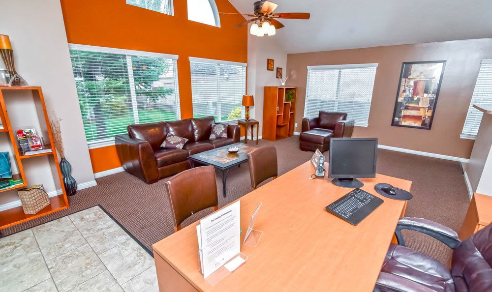 Luxury clubhouse for residents at our Bountiful apartments