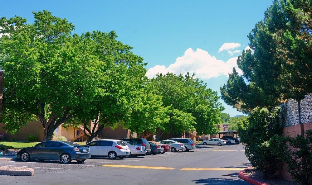 Parking Lot at Indigo Park in Albuquerque, NM